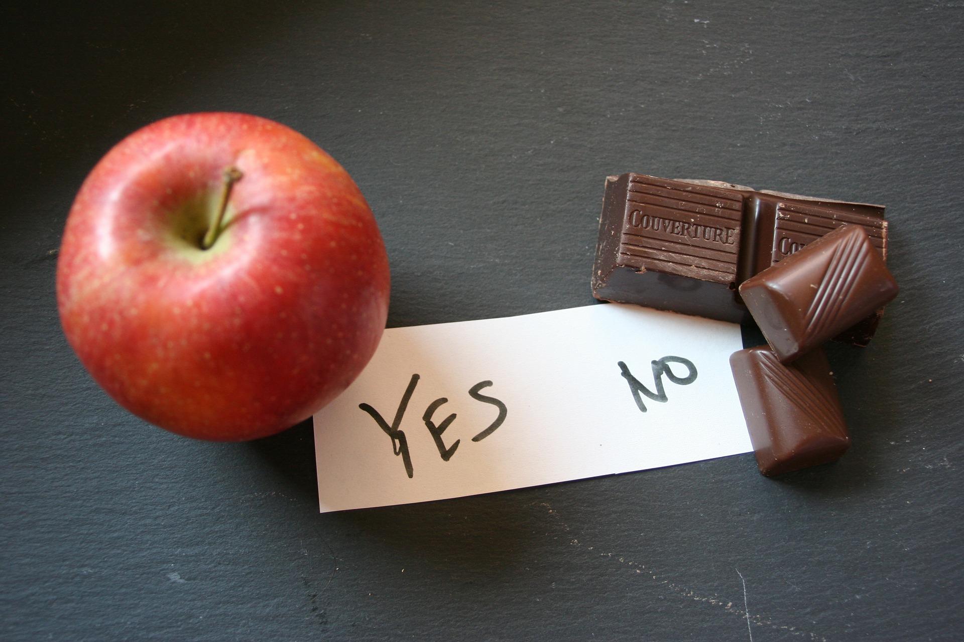 りんごとチョコ